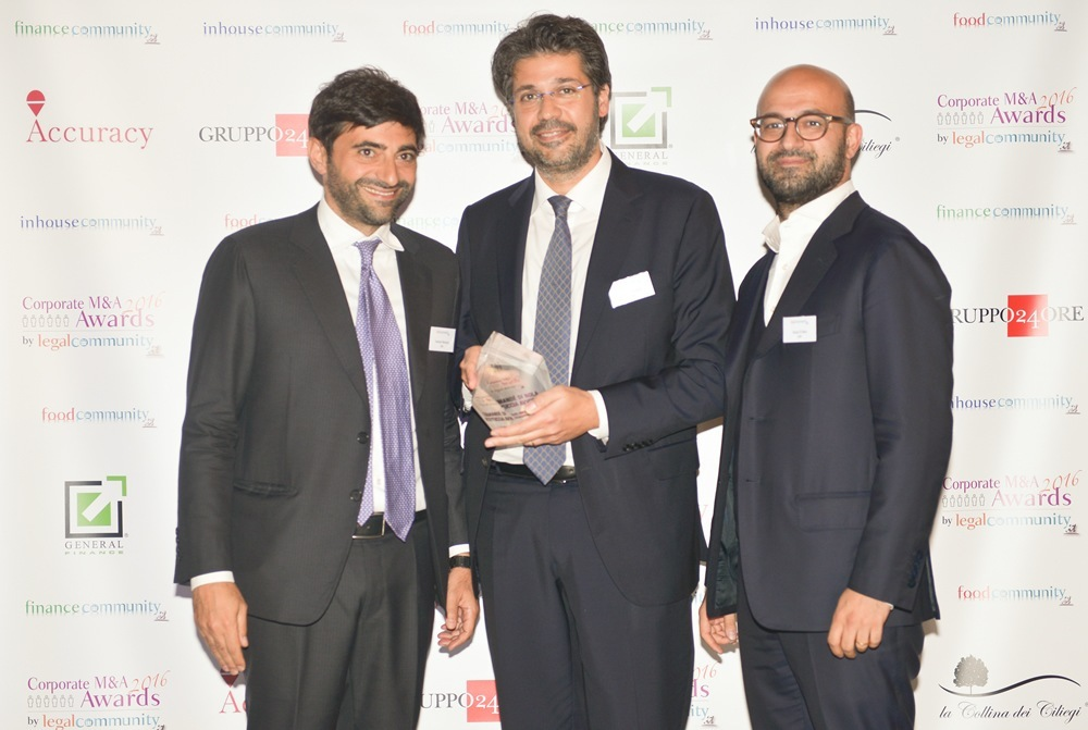 CDRA vince il premio come Boutique di Eccellenza dell'Anno Contenzioso Banking & Finance agli Awards 2018 di Le Fonti