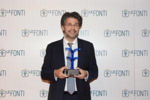 Carlo Comandè Founding Partner di CDRA vince il premio de Le Fonti Awards 2018 come  Avvocato dell'Anno Boutique di Eccellenza Energy