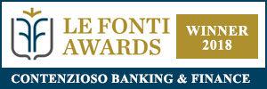 le fonti awards 2018 contenzioso banking finance2