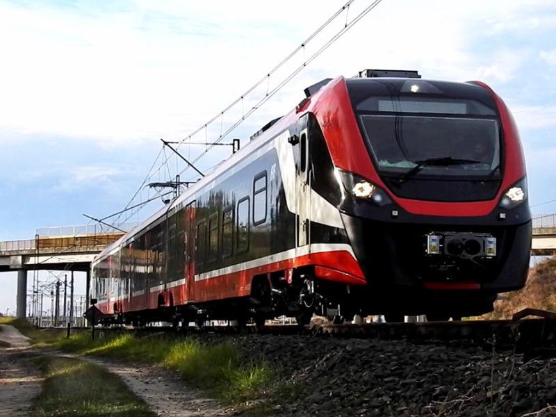 Newag treni regione sicilia