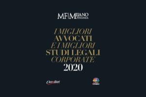 CDRA e diversi suoi partners inseriti da Milano Finanza e Class Editori tra i Migliori Avvocati e i Migliori Studi Legali Corporate 2020
