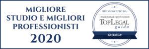 Migliore studio e Migliori professionisti 2020 cdra