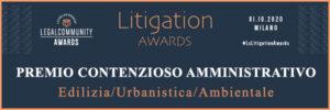 Premio Contenzioso Amministrativo cdra