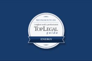 CDRA ed il suo partner Carlo Comandé inseriti Top Legal tra i Migliori studi e professionisti nella sua Guida Energy 2020