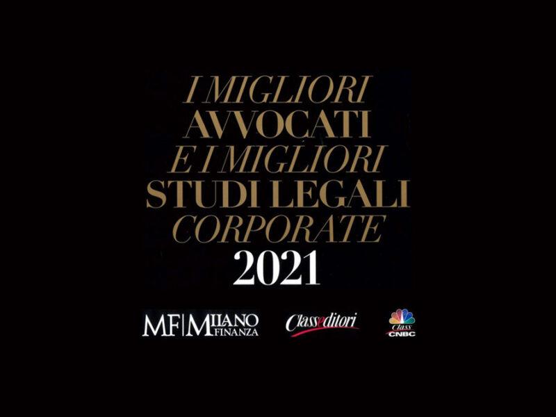 migliori avvocati migliori studi legali corporate 2021