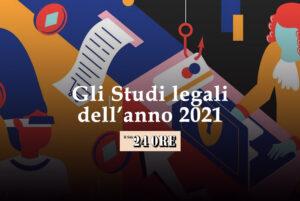 CDRA inserito dal Il Sole 24 Ore tra gli studi legali dell'anno 2021