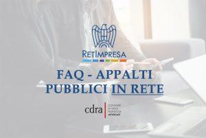 Accordo con CDRA – Prime risposte alle FAQ sugli appalti pubblici in rete